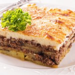 The Moussaka express recipe!