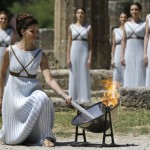 Olympic Flame Lighting