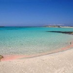 Two of the most spectacular pink beaches of the world in Crete