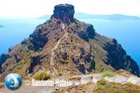 Hiking Skaros Rock 11