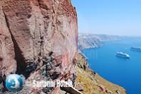 Hiking Skaros Rock 9