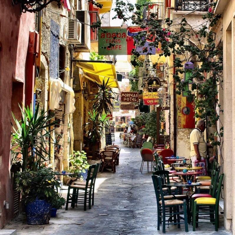 chania+streets+crete