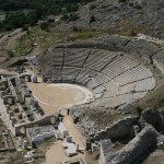 Philippi:The impressive ancient theater from Hellenistic Times up to now