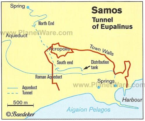 samos-tunnel-of-eupalinus-map