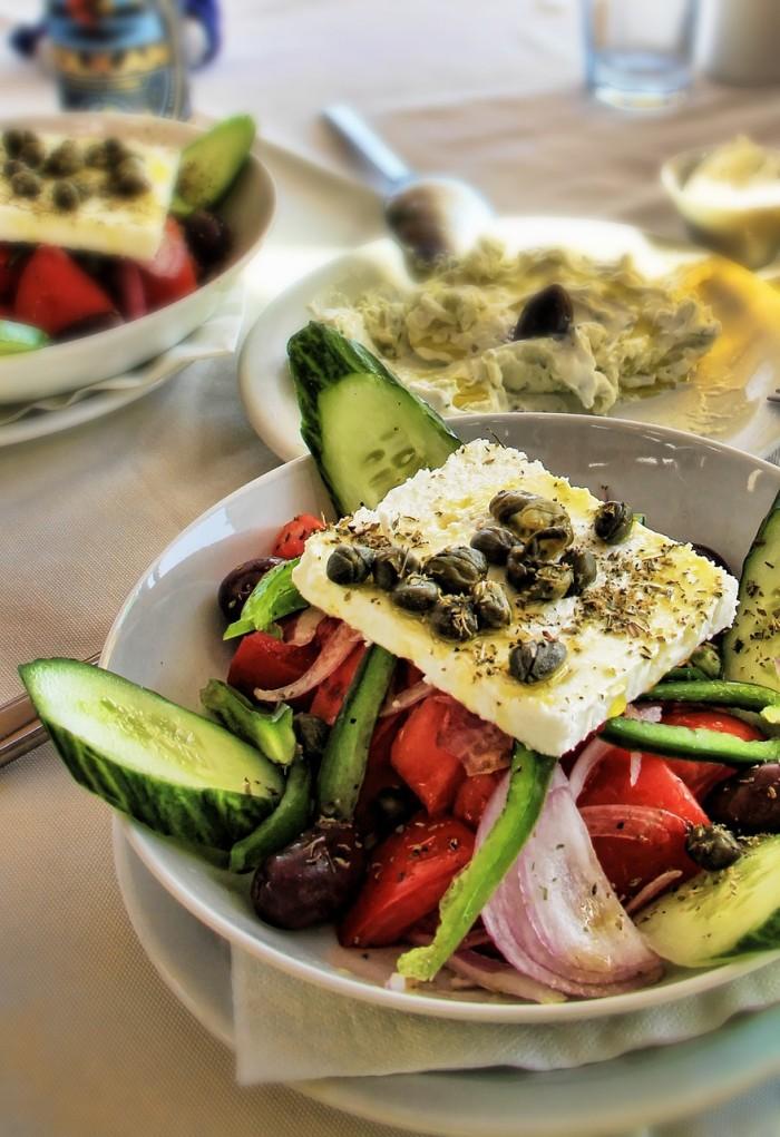 santorini greek salad