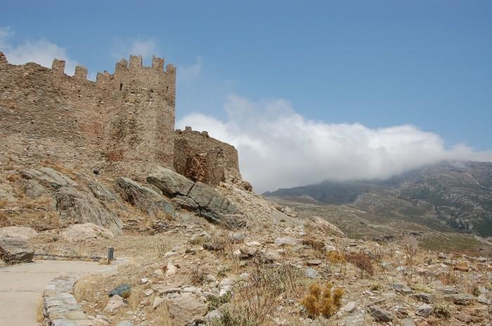 karystos castles castello rosso