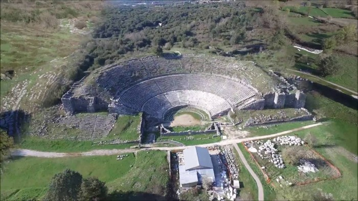 dodona oracle the oldest hellenic oracle travel zone greece