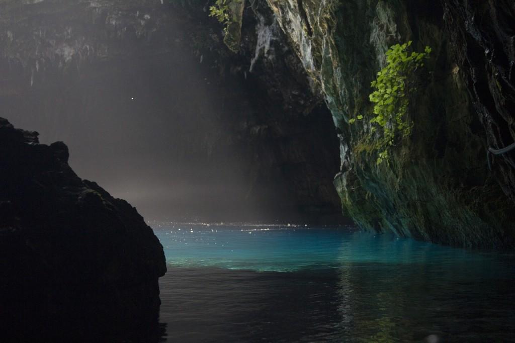 Lake Melissani Kefalonia