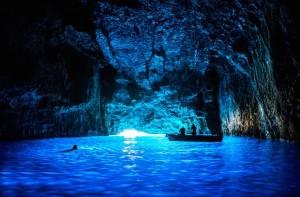 blue cave kastelorizo