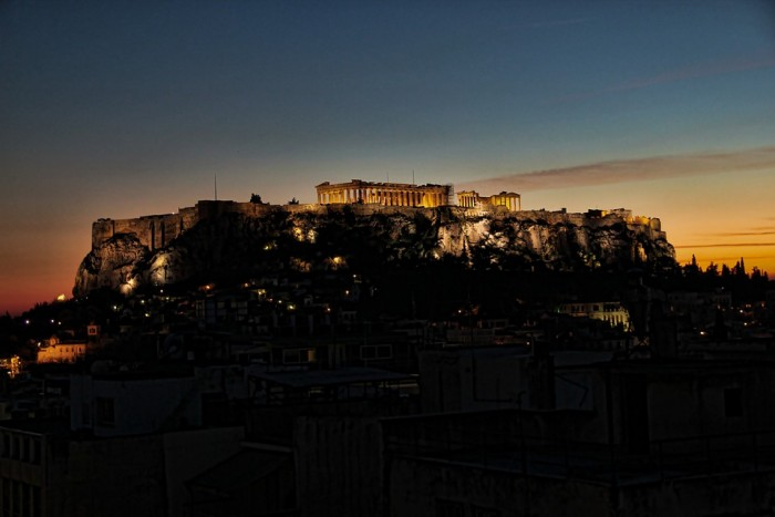 valentine's day in Athens