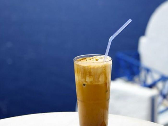 Greek ice coffee