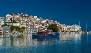 Chora of Skopelos