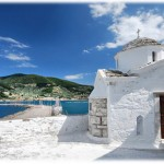 The Church of Agios Athanasios in Skopelos