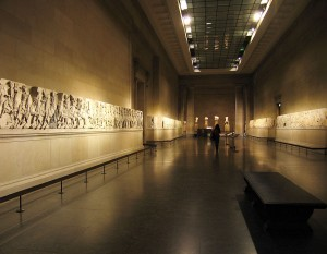 Greek exhibits in the world's top museums