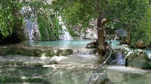 Kithira Watermills in Neraida Ravine