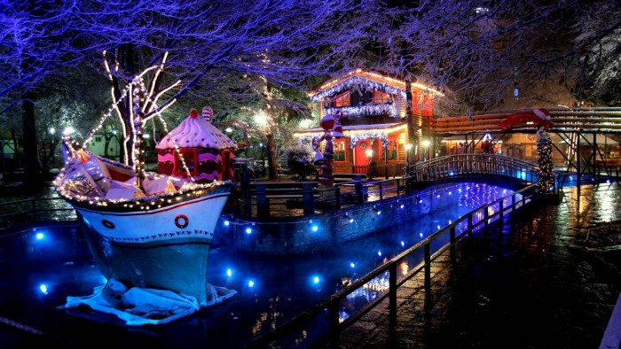 Christmas destinations in Greece