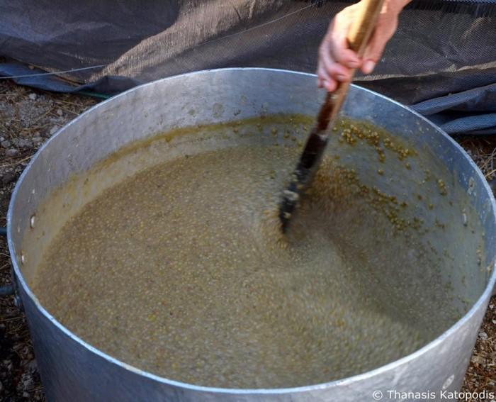 lentils of Egklouvi