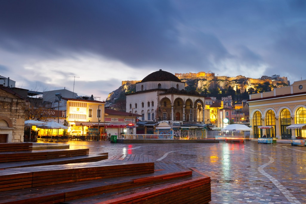 must visit markets in athens