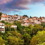 Dimitsana Village of the Mountainous Arcadia