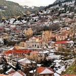 Vitina Village on the Slopes of Arcadia