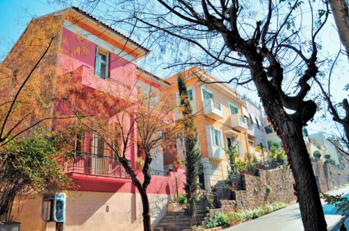 neighborhoods in athens