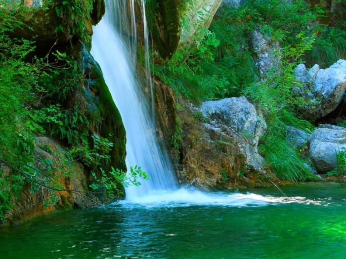 waterfalls in greece