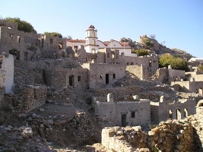 medieval castle of tilos
