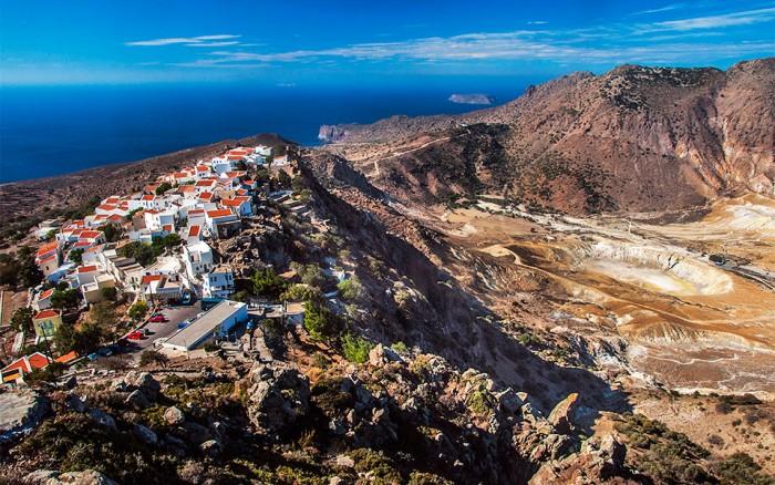 nisyros villages