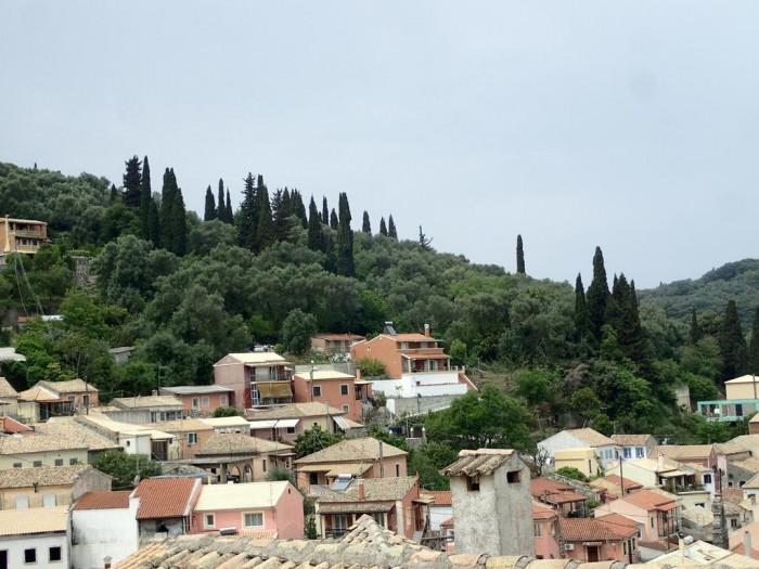 north corfu villages