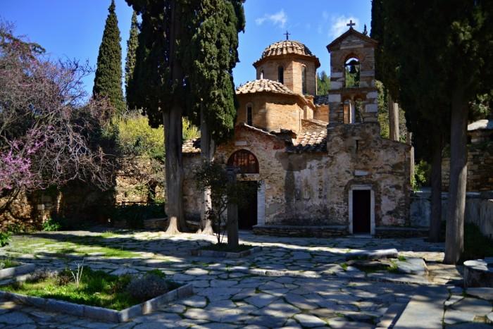 athens monasteries