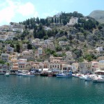 The Quaint Chorio in Symi
