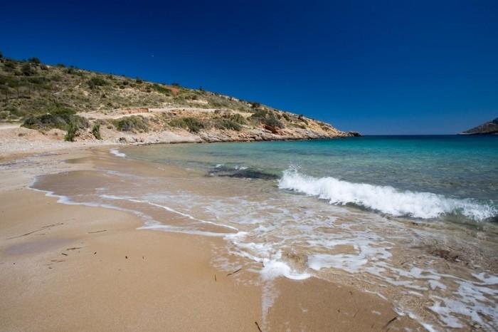 leros beaches