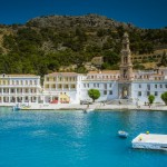 Visiting Panormitis Monastery in Symi