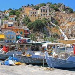 A Leisurely Stroll by Symi Gialos