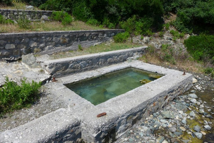 samothraki thermal springs
