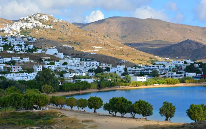 serifos beaches