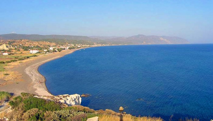 lesvos beaches
