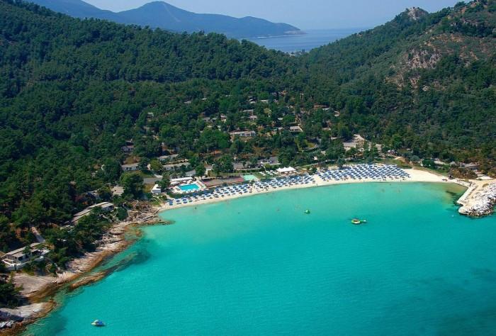 thassos beaches