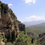 Lousios Gorge in Peloponnese