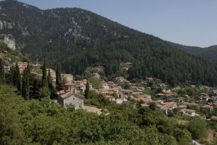 parnon villages