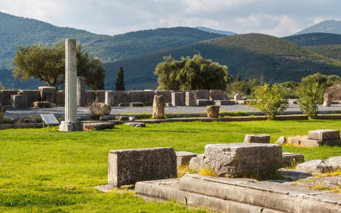 ancient theater of messene