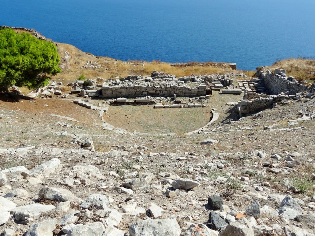 ancient theater of thera