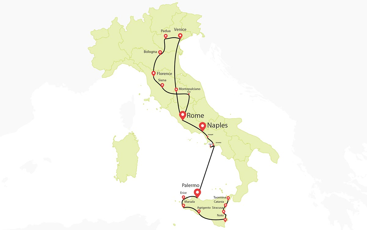 17 Days Grand Tour Of Italy Italy Vacations Travel Zone