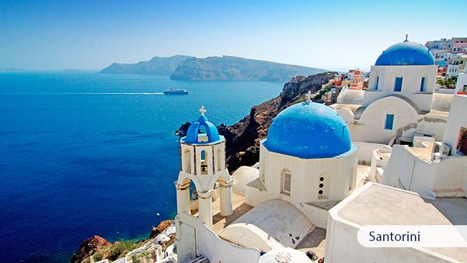 Greek Island Hopping Days Santorini Mykonos Crete - Greek island vacations