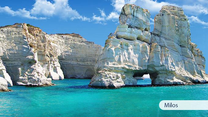 10 Days Santorini Mykonos Milos Travel Zone